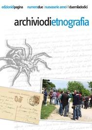 Archivio di Etnografia. 2/2012 - copertina
