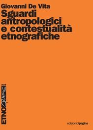 Sguardi antropologici e contestualità etnografiche - copertina
