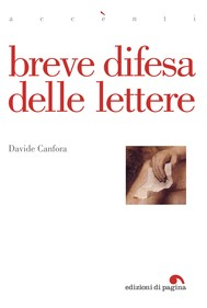 Breve difesa delle lettere - copertina