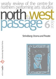 North-West Passage 6/2009. Strindberg: Drama and Theatre - copertina