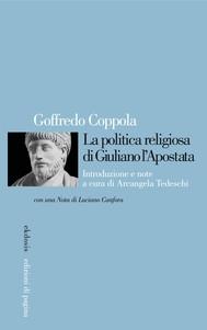 La politica religiosa di Giuliano l'Apostata - copertina