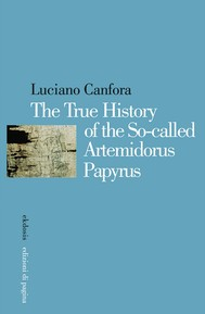 The True History of the So-called Artemidorus Papyrus - copertina