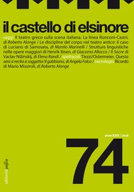 Il castello di Elsinore 74 - copertina
