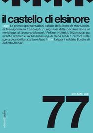 Il castello di Elsinore 77 - copertina