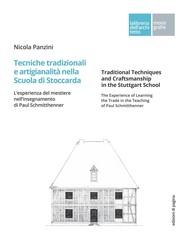 Tecniche tradizionali e artigianalità nella Scuola di Stoccarda - copertina