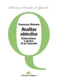 «Realitas obiectiva» - copertina