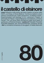Il castello di Elsinore, 80 - copertina