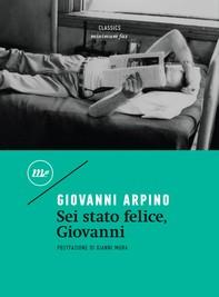 Sei stato felice, Giovanni - Librerie.coop