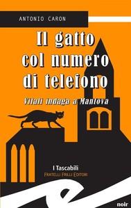 Il gatto col numero di telefono. Vitali indaga a Mantova - copertina