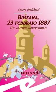 Bussana, 23 febbraio 1887. Un amore impossibile - copertina