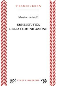 Ermeneutica della comunicazione - Librerie.coop
