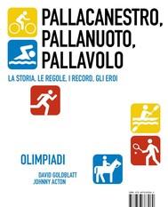 Pallacanestro, Pallanuoto, Pallavolo [Olympic Pill] - copertina