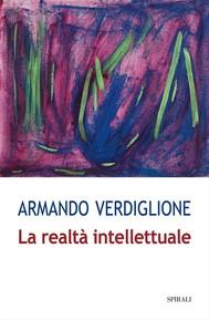 La realtà intellettuale - copertina