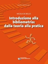 Introduzione alla bibliometria - copertina