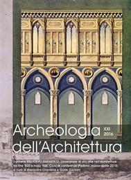 Archeologia dell'Architettura XXI 2016 - copertina