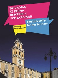 Saturday at Parma University for EXPO 2015: the University for the Territory - Librerie.coop