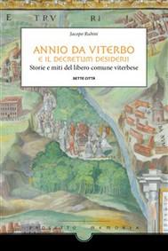 Annio da Viterbo e il Decretum - copertina