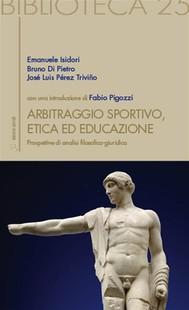 Arbitraggio Sportivo, Etica ed educazione - copertina