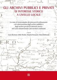 Gli archivi pubblici e privati di interesse storico a livello locale - Librerie.coop