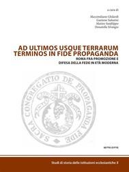 Ad ultimos usque terrarum terminus in fide propaganda - copertina