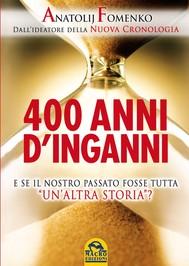 400 anni di inganni - copertina
