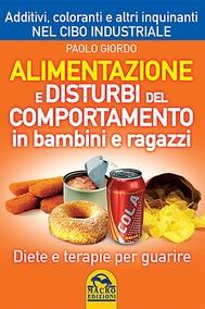 Alimentazione e Disturbi del Comportamento in Bambini e Ragazzi - copertina