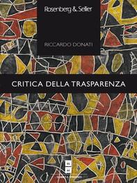 Critica della trasparenza - Librerie.coop