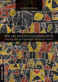 Per un nuovo materialismo - copertina