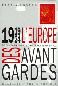 1919-1924 L'Europe des Avant-Gardes E-card - copertina