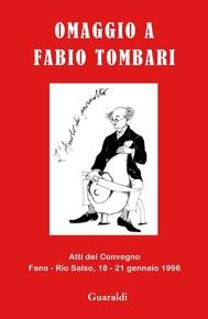 Omaggio a Fabio Tombari - copertina