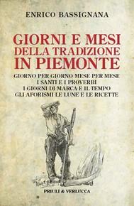 Giorni e mesi nella tradizione in Piemonte - copertina