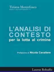 Analisi di contesto per la lotta al crimine - copertina