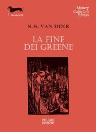 La fine dei Greene - Librerie.coop