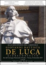 Alla riscoperta del Cardinale Giovanni Battista De Luca - copertina