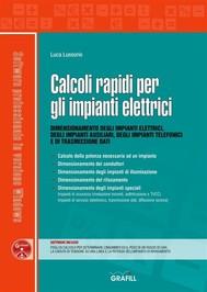 Calcoli rapidi per gli impianti elettrici - copertina