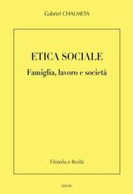 Etica sociale - copertina