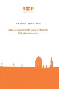 Krisis e cambiamento in eta tardoantica - copertina