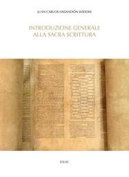 Introduzione generale alla Sacra Scrittura - copertina