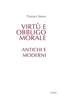 Virtù e obbligo morale - copertina