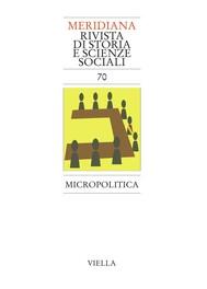 Meridiana 70: Micropolitica - copertina