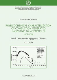 Physicochemical characterization of combustion generated inorganic nanoparticles - Librerie.coop