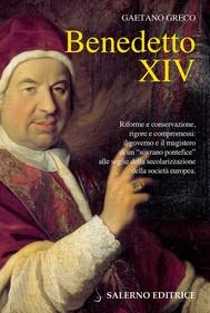 Benedetto XIV - copertina