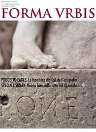 Le frontiere digitali dell'epigrafia - Speciale Sibari - copertina