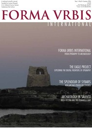 Forma Urbis International – From Epigraphy to Archaeology - copertina