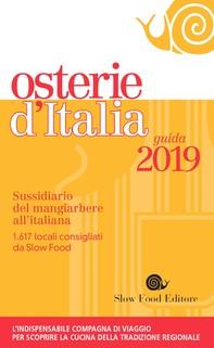 Osterie d'Italia 2019 - Librerie.coop