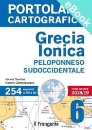 PORTOLANO CARTOGRAFICO 6. Grecia Ionica, Peloponneso sudoccidentale - copertina