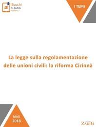 La legge sulla regolamentazione delle unioni civili: la riforma Cirinnà - Librerie.coop