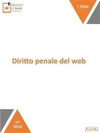 Diritto penale del web - Librerie.coop