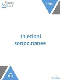 Iniezioni sottocutanee - Librerie.coop