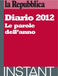 Diario 2012. Le parole dell'anno. - copertina